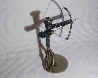 Metal Archer Sculpture - Metal Art, Archer Art, Archery, Archery Sculpture, Steel Art, Steampunk, Archer Gift, Birthday Gift