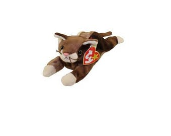 Ty Beanie Babies Pounce the cat 1997 Generation 5 version 5