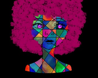 Magenta-Fine Art Digital Print