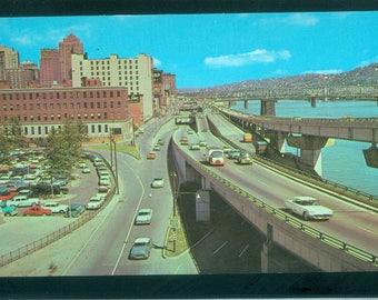 Fort Pitt Boulevard Pittsburgh Pennsylvania Photo Postcard