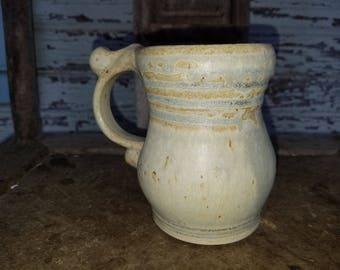 Mug in Stoney Matt Glaze