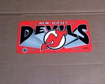 New Jersey Devils License Plate