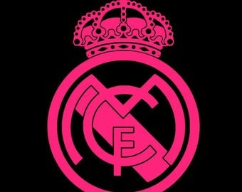 Real Madrid Vinyl Decal - Multiple Colors and Sizes Available
