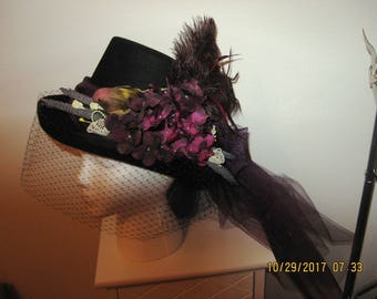 Victorian Carriage Riding Hat