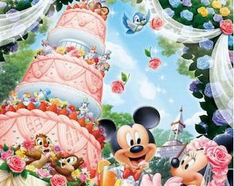 DIY diamond cross stitch cartoon diamond embroidery Mickey Mouse rhinestone painting mosaic pattern