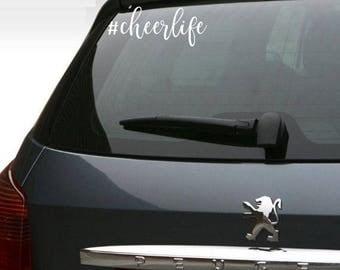 Cheerlife Car Sticker    #cheerlife
