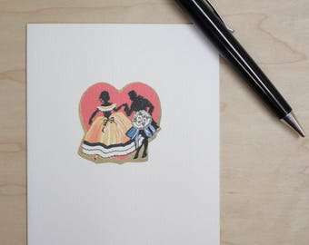 Love Card Heart Dancers