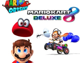Mario /Multiple Banners /YouTube Channel Banner /Channel Art /Personalized