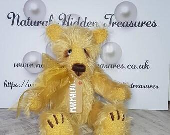 Marmalade Genuine Mohair Handmade Teddy Bear