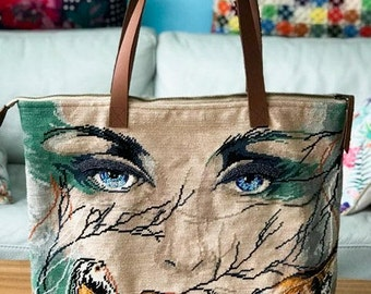 Large canvas bag