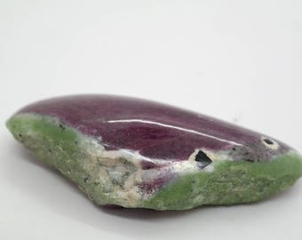 Ruby Zoisite, Rare A++ 120 gr, Ruby in Zoisite Gemstone, Ruby fuchsite,  Large Ruby in Zoisite,  Ruby fuchsite Rough