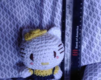 Crochet dolls and animals