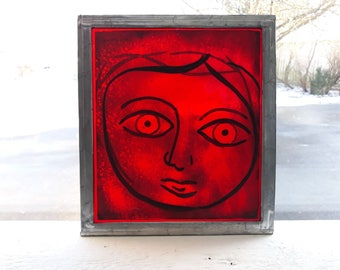 Stained Glass - face #two
