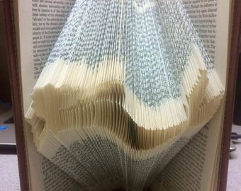 Mermaid: Folded Book Art