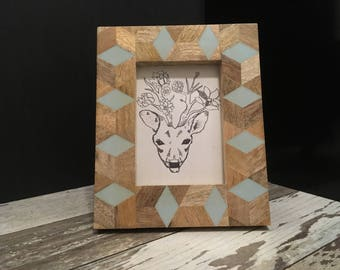 Download of Floral Deer head