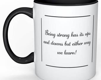 Mug - Ups and Downs