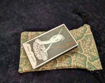 Tarot Bag, Drawstring Bag, Dice Bag, Bag of Holding