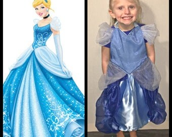 Cinderella Inspired Dress Up Apron