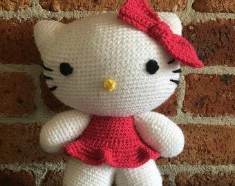 Handmade Crochet Hello Kitty
