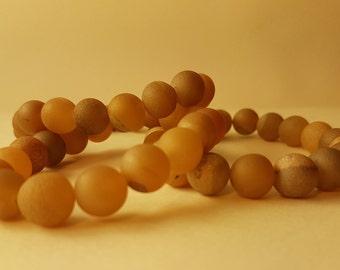 Natural Sandstone Bracelet 10mm