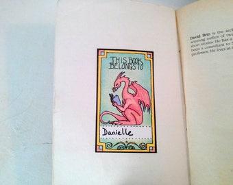 5 Red Dragon Bookplates