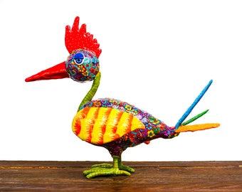 Bird decor ,Bird art , Bird sculpture , Bird collectible , Bird decoration , home decor , home decoration, bird, whimsical Bird , Bird art