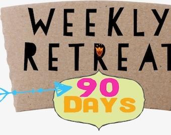 90 Day Access - Mixed Media Retreat with Suzi Blu