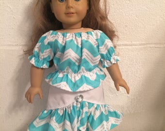 """Skirt #15 doll clothes that fit the 18"""" like the American girl"""