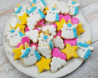 Unicorn Mini Sugar Cookies