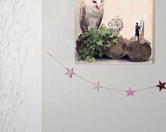 canvas art, optician,  photography canvas, canvas print, Steampunk home decor, Art, owl, gift optician