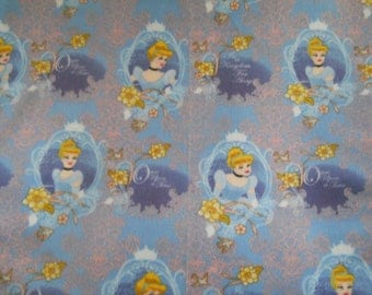 Cinderella Double Thick No Sew Fleece Blanket
