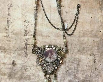 Handmade Miniature Photo Necklace