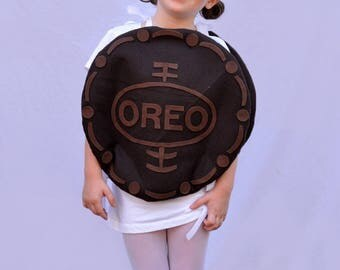 Baby Costume Oreo Costume Toddler Infant Kid Adult Halloween Costume Cookie Costume Oreo Cookie Cookies and Milk Dress Up Food Costume Cream