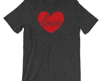 Valentines Day Shirt- Womens Valentine Shirt- Valentines T shirt- Valentines Gift for Her- Love Tshirt- Love Heart T shirt- Love Heart Shirt