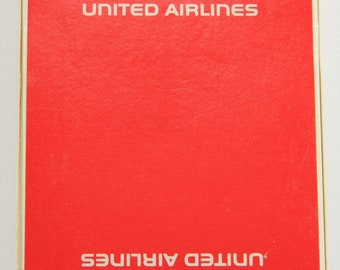 United Airlines Playing Cards Sealed US Playing Card Co. Aviation Collectibles 18583