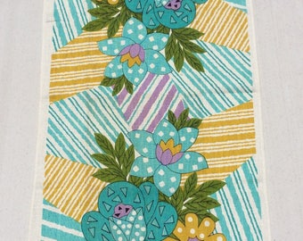 Vintage Towel Groovy Flower Power