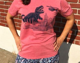 Dinosaur Attacks KC T-Shirt