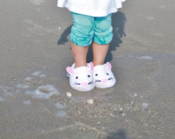 Yikes Twins Children's Bunny slippers