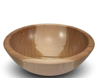 The Simpleton - Handmade Wood Bowl - Cherry Wood - Food Safe