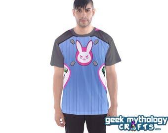 D Va Inspired Cosplay Sports Mesh Jersey T-Shirt Unisex Men's or Women's PREORDER
