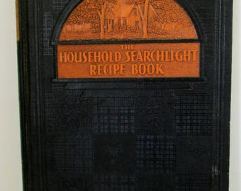 Vintage Cook book 1937 The Household Searchlight Recipe Book Cook Book Cookbook, Vintage Recipes, Old Cookbook