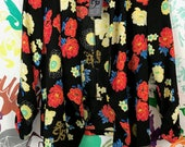 Black classic floral sheer blazer perfectly pairs any outfit for layering and bring some color into the lovely day