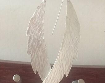 Fine silver wings