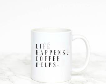 cute coffee mugs, coffee cup, coffee gift, coffee mug, coffee mug with sayings, coffee bar