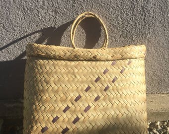 The Vintage Straw Wicker Bag