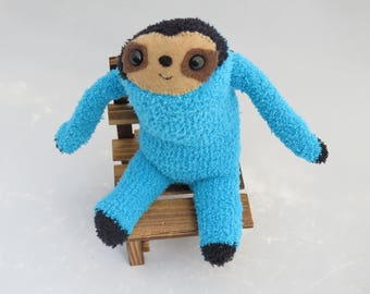 Seth Sloth - Sloth Plush Sock Animal