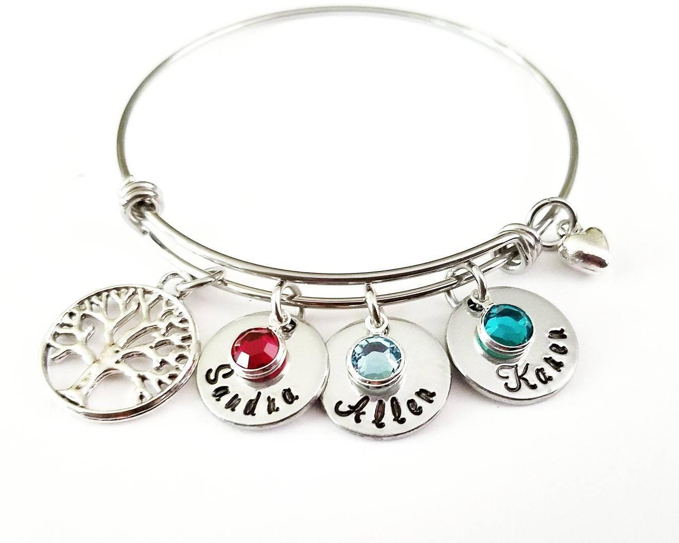family tree bracelet tree of gift