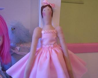 Darling Little Ballerina Doll....Sweet in Pink
