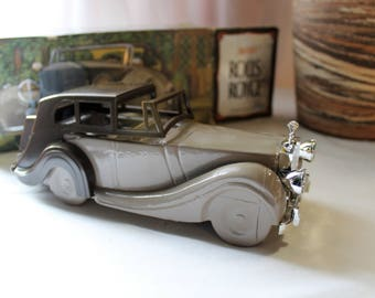 """Vintage AVON """"Rolls-Royce"""" Decanter With Deep Woods After Shave, Full Bottle"""