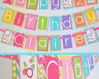 Bubbles Birthday Party Decorations | Fully Assembled Decorations | Bubble Party | Bubble Banner | Bubble Theme Birthday Party Decorations